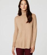 LOFT Seamed Turtleneck Sweater