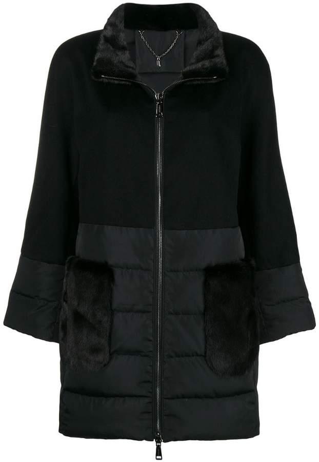 N.Peal mink fur puffer jacket
