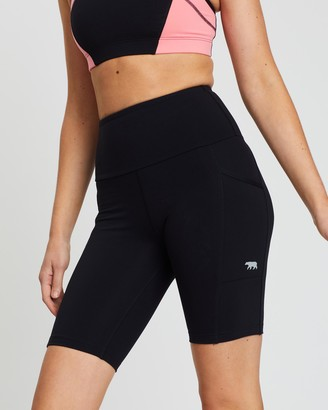 Running Bare Ab-Waisted Power Moves Bike Tights