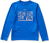Under Armour Big Boys 8-20 Here For The Win Long-Sleeve Tee