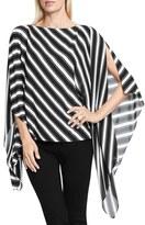 Vince Camuto Women's Stripe Poncho