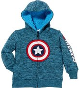 Nickelodeon Superhero Little Boys Full Zip Hoodies Jacket (t, )