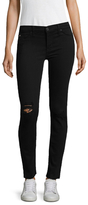 Hudson Krista Raw Ankle Distressed Jeans