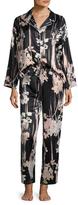 Natori Layla Printed Notch Pajama Set