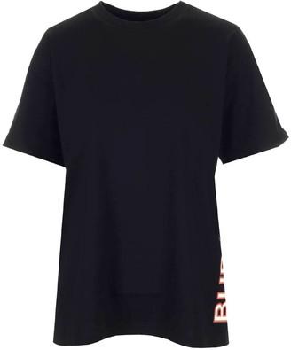 Burberry Logo Print Oversized T-Shirt