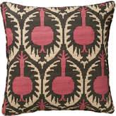 OKA Delima Cushion Cover - Pink/Black