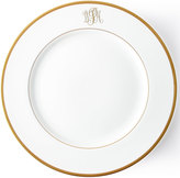 Pickard Ultra-White Script Monogram Charger Plate