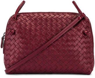 Bottega Veneta Woven Shoulder Bag in Bordeaux | FWRD