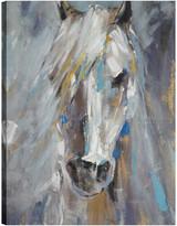 "Northwood Collection Inc. Blue Horse, Animal Art, Canvas Print Wall Art, 18""x24"""