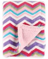 Baby Vision BabyVision® Hudson Baby® Double Layer Chevron Blanket with Sherpa Backing