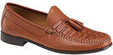 Johnston & Murphy Men s Cresswell Woven Tassel Loafers