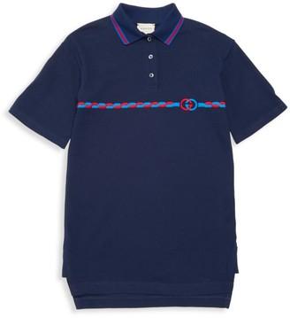 Gucci Little Boy's & Boy's Short Sleeve Dress