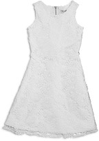 Blush by Us Angels Girls' Lace Flared Dress - Big Kid
