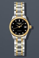 Longines Master Collection Automatic Diamond Markers Transparent Case Back Women's Watch