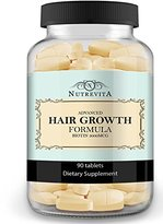 Nutrevita Vitamins for Hair Growth 90 Tablets