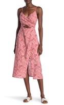 Lush Printed Woven Dress