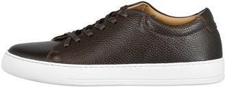 Eleventy Men's Deerskin Leather Sneaker