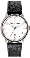 Ted Baker Daniel Analog & Date Leather-Strap Watch