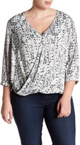 Tart Bex Printed Woven Blouse (Plus Size)