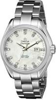 Omega Women's 231.10.34.20.55.001 Seamaster Aqua Terra Automatic Mother-Of-Pearl Dial Watch