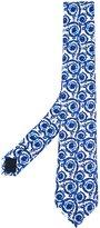 Versace painted Baroque tie