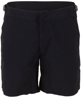 Orlebar Brown Black Bulldog Mid-Length Swim Short