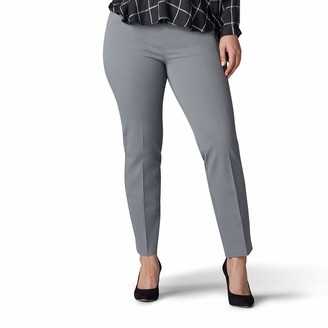 Lee Women's Plus Size Sculpting Fit Slim Leg Pull On Pant