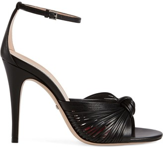 Gucci Knotted Sandals