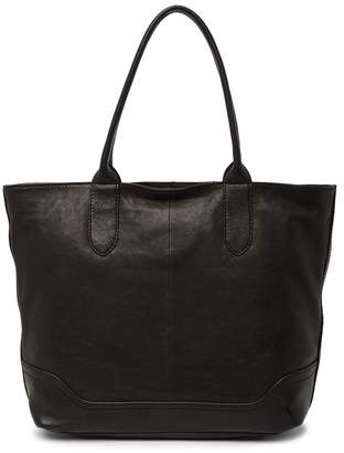 Frye Madison Leather Zipper Tote
