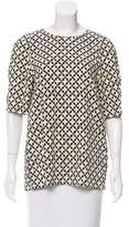 Stella McCartney Printed Short Sleeve Top