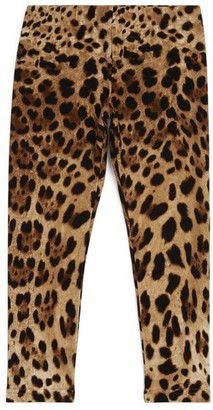 Dolce & Gabbana Kids Leopard Print Leggings (8-12 Years)