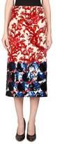 Dries Van Noten Women's Velvet Pencil Skirt