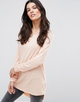 Only Mila Lacy Long Sleeved T-Shirt