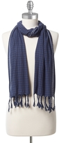 Tommy Hilfiger Cotton Check Scarf