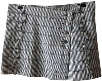 Burberry Blue Cotton Skirt for Women