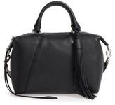Rebecca Minkoff Small Isobel Leather Satchel - Black