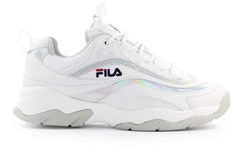 Fila Ray M Low Wmn White Silver Sneaker