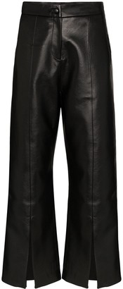 MATÉRIEL Flared Cropped Trousers