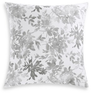 Charter Club Damask Designs Watercolor Leaf Cotton 300-Thread Count European Sham, Created for Macy's Bedding
