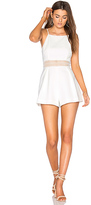 Keepsake Do It Right Romper in White. - size S (also in )
