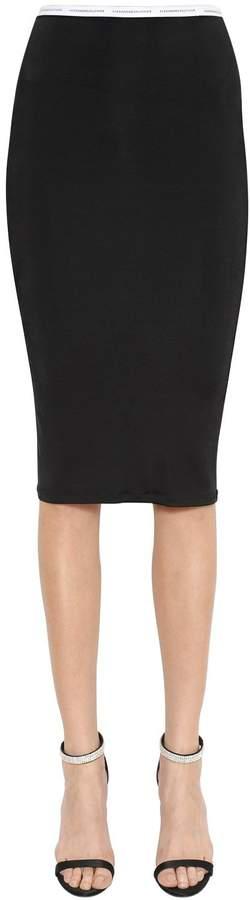 Alexandre Vauthier Jersey Pencil Skirt