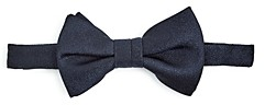 Theory Amherst Textured Silk Pre-Tied Bow Tie