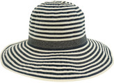 Gregory Ladner Wide Ribbon Large Brim Hat
