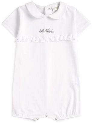 La Perla Kids Embellished Logo Bodysuit (1-12 Months)