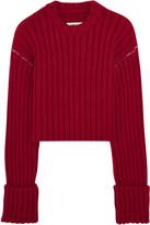 MM6 MAISON MARGIELA Cropped wool sweater