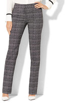 New York & Co. 7th Avenue Design Studio - Signature - Universal Fit - Straight-Leg Pant -Tall