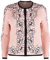Basler Floral Beaded Cardigan