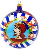 Dolce & Gabbana painted Christmas bauble with Knight