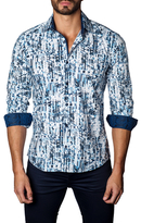 Jared Lang Detailed Cotton Sportshirt