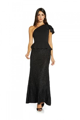 Adrianna Papell One Shoulder Mermaid Gown